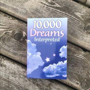10,000 Dreams Interpreted Book